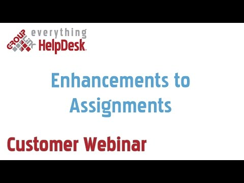 Enhancements to Assignments (7/11/2013)