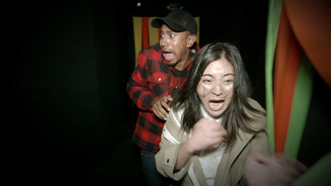 Kalen and His Producer Go Through a Haunted House