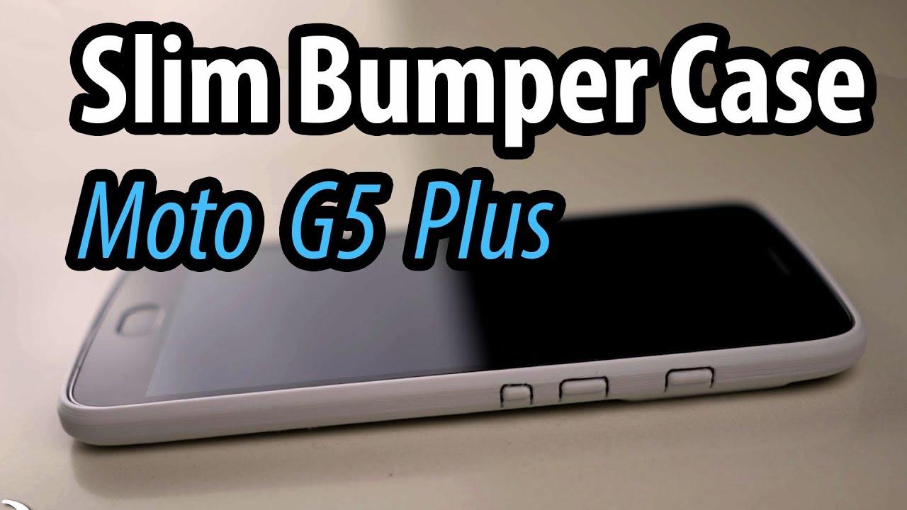 watch 84618 46e7e Slim Bumper Case for Moto G5 Plus