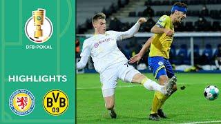 Eintracht Braunschweig - Borussia Dortmund 0:2 | Highlights | DFB-Pokal 2020/21 | 2. Runde
