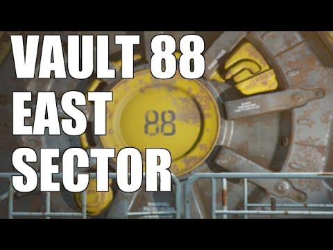 Fallout 4 - Vault Tec DLC - East Sector Hidden Area (Uranium & Limestone)