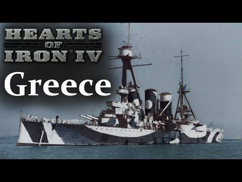 Hearts of Iron 4 - Greece - Episode 16 - Taking on the Royal Navy
