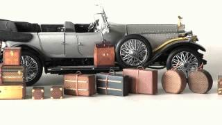 Museum Garret /antique L.vuitton Trunk  Paper Craft Mini Model The Smallest In The World ? .wmv