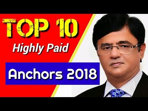 Top Ten Pakistani Anchors And Their Salaries