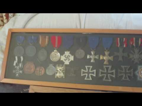 SIMPLE BACKING FOR MEDAL/BADGE DISPLAY FRAME
