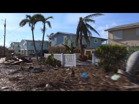 Residents assess damages in hurricane-hit Florida Keys