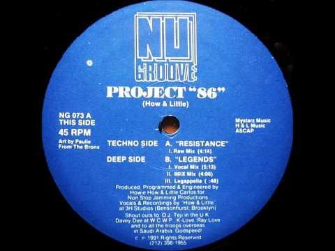"""Project """"86"""" (How & Little) - Legends (Vocal Mix)"""