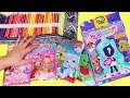 Coloring Play Packets and Opening Hairdorables | Toys and Dolls Fun for Kids | SWTAD