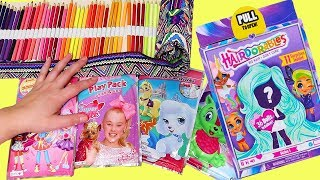 Coloring Play Packets and Opening Hairdorables ! Toys and Dolls Fun for Kids | SWTAD