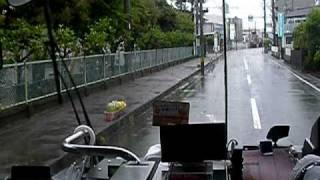 [遠州鉄道バス]〔30〕舘山寺線 浜松北高→富塚中学校 前面展望
