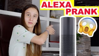 Alexa Prank , Meine Schwester prankt mich - Celina