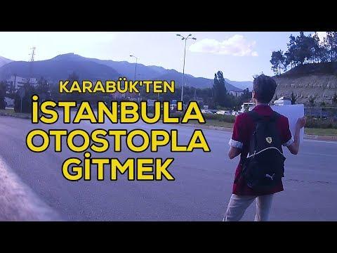 İstanbul'a Gitmek Vlog - Otostop