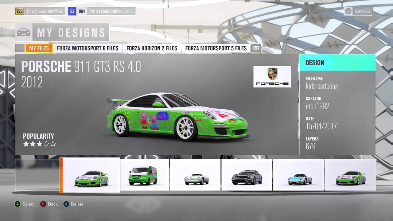 Forza Horizon Decal Maker Designs And My Kids Cartoon Designs - Car decal maker