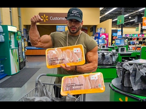 SAVE MONEY !! | CHEAP BODYBUILDING DIET GROCERY SHOPPING