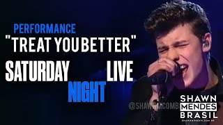 "Shawn Mendes performs ""Treat You Better"" live at SNL (04/12 - HD)"