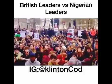 British leaders versus Nigerian leaders on how they relate to their citizens