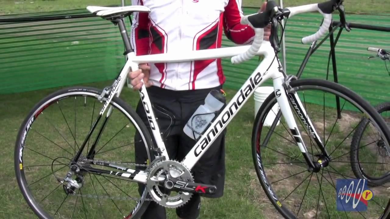 08b882aa135 Bike Press Camp 2010 - Cannondale CAAD10 - YouTube