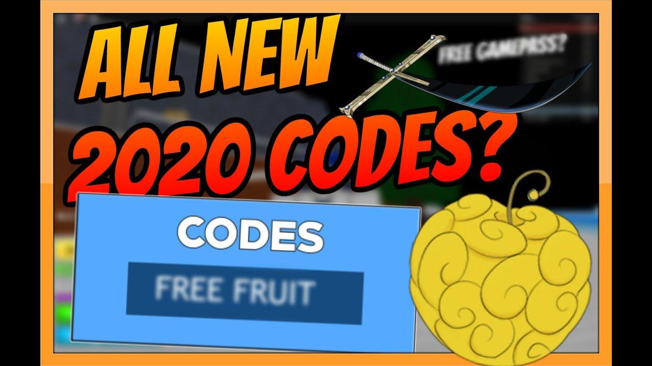 Update 11 All New Blox Piece Blox Fruits Codes July 2020