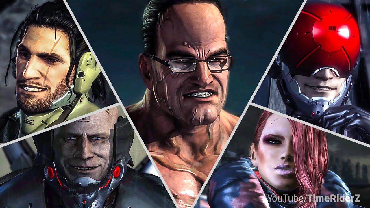Metal Gear Rising Revengeance - All Bosses with Cutscenes [Revengeance, S rank, No damage]