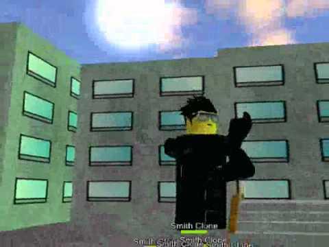 Roblox Neo Roblox Romatrix Reloaded Neo Vs Clone Agents Youtube