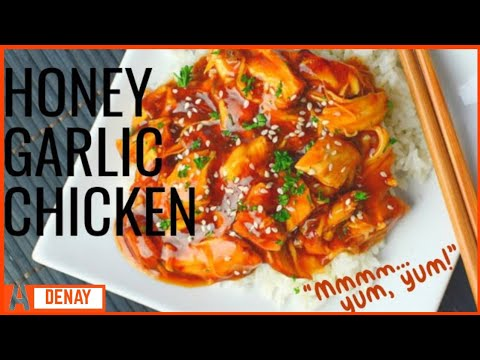 Meals In Minutes: Super Easy Honey Garlic Chicken