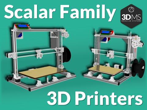 Scalar M/XL 3D printer