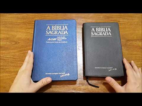 ACF rcm vs ACF    Comparação - Biblia Almeida Corrigida Fiel