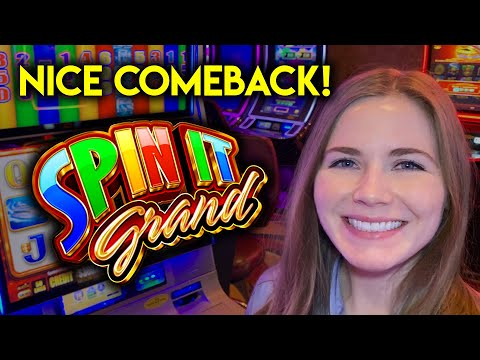 Chasing My Losses? Spin It Grand Slot Machine! Nice Comeback!!