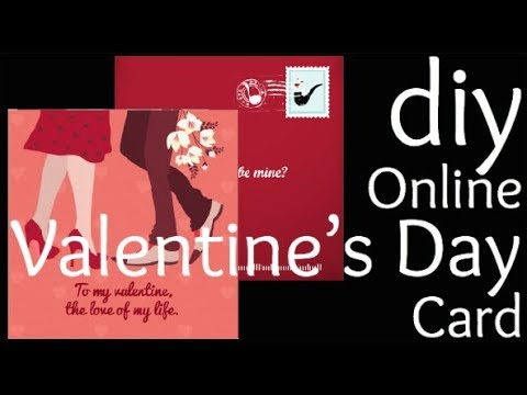 Valentine's Day Card DIY Ideas | FREE Online Hack | How To Make A Digital Greeting Card