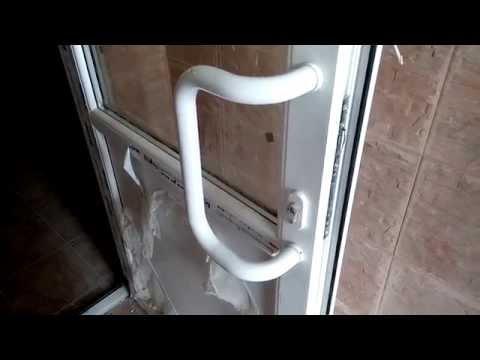 Входная дверь ручка дуга