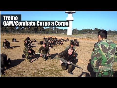 Exército Português DGME - Treino G.A.M./Combate Corpo a Corpo