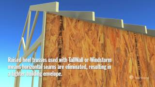 How To Install A Raised Heel Truss.