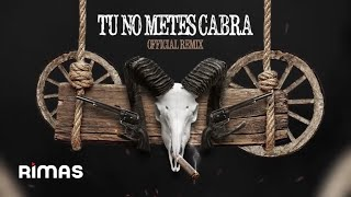 Tu No Metes Cabra Remix - Bad Bunny, Daddy Yankee, Anuel & Cosculluela thumbnail