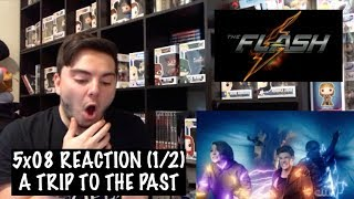 THE FLASH - 5x08 'WHAT'S PAST IS PROLOGUE' REACTION (1/2)