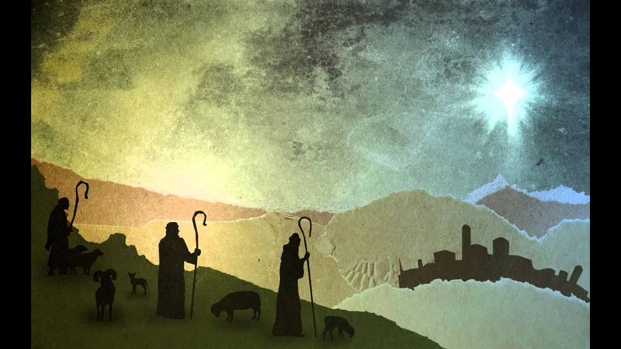 Christmas Worship Background Shepherds Free Background