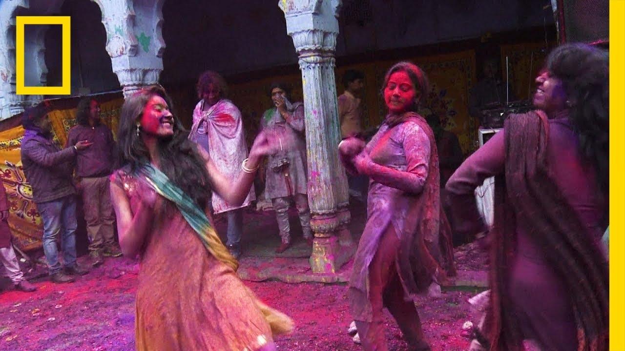 'Festival of colours': Hindus celebrate Holi