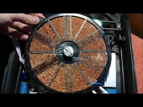 Inside Induction Heater