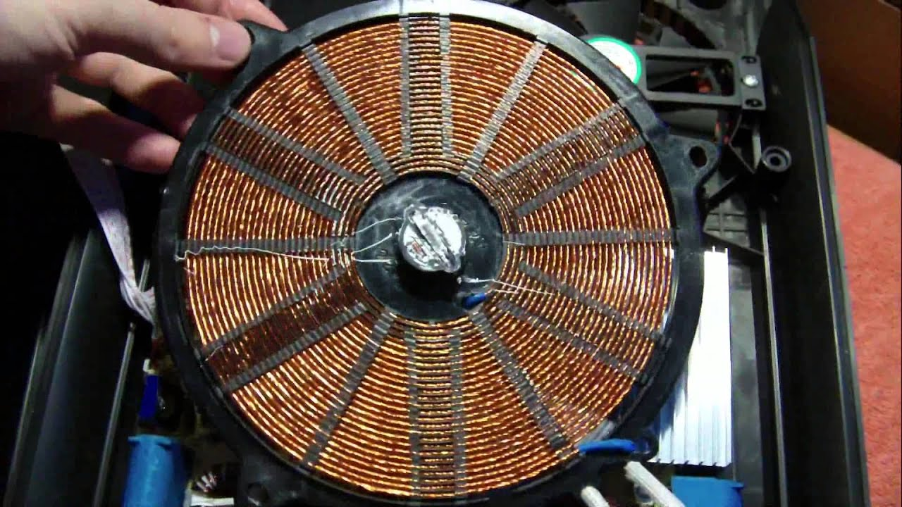 Inside Induction Heater Youtube