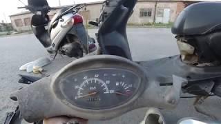 Ремонт скутера Yamaha Jog Z2. Состояние пластика и новый пациент...