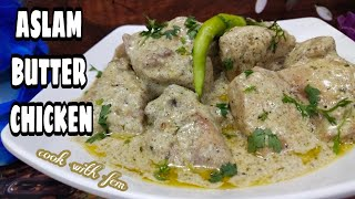 Butter Chicken Recipe  Old Delhi Famous Aslam Butter Chicken  Cook With Fem