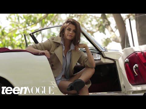 Selena Gomez's Teen Vogue Cover Shoot