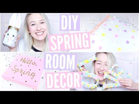 DIY Spring Room Decor | Sophie Louise