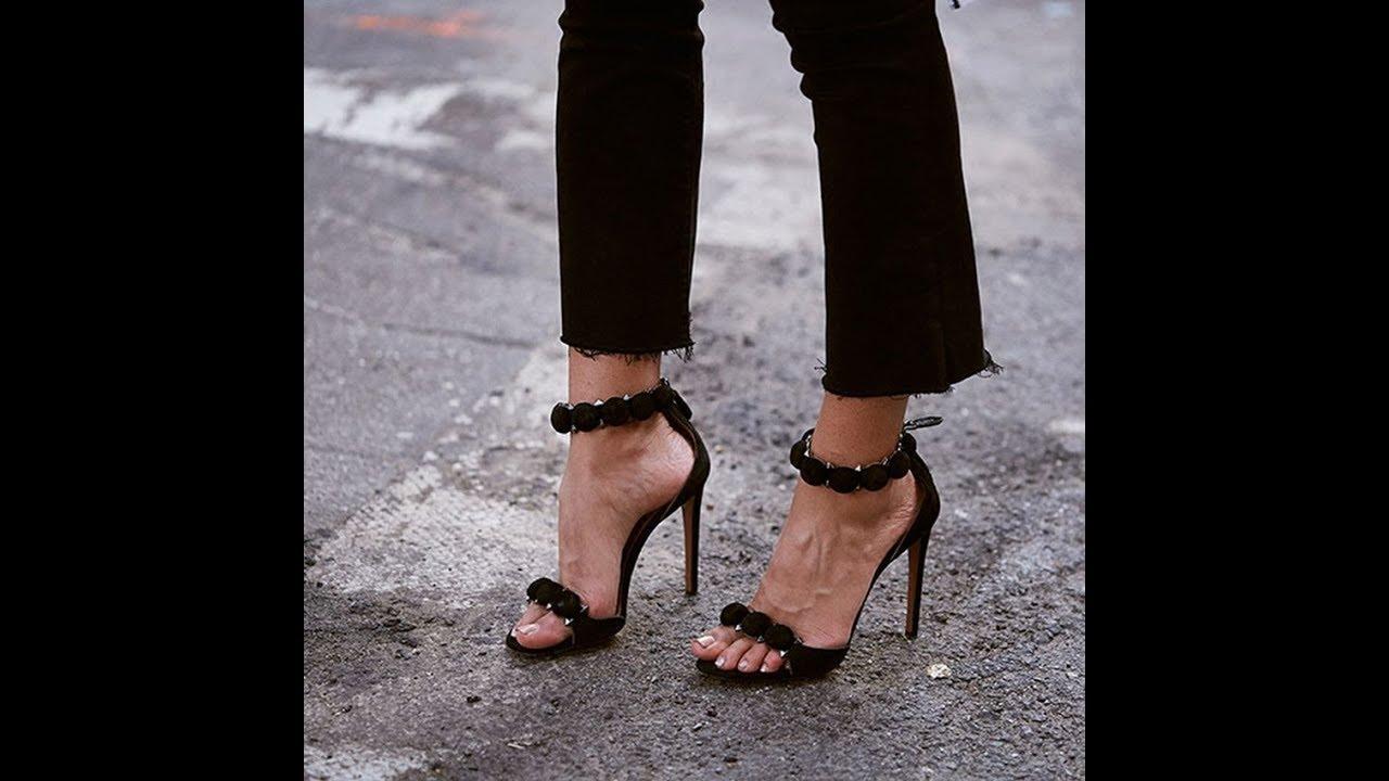 Женские туфли на каблуке - YouTube