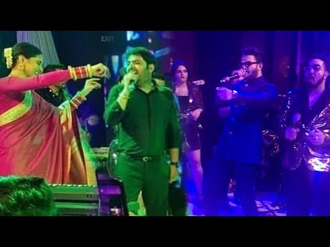 Deepika Padukone & Ranveer Singh's AMAZING Bhangra Dance With Kapil Sharma At His WEDDING Reception