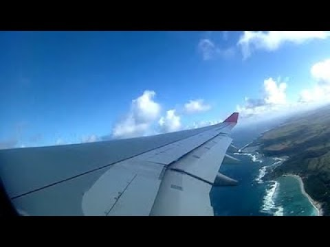 AIR MAURITIUS A330-200 | DEPARTURE & TAKE OFF FROM MAURITIUS  ISLAND [HD]