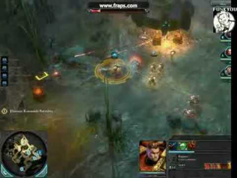 Warhammer 40k  Dawn of War 2 Hard Action Gameplay