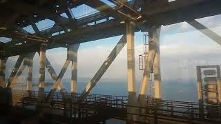 《車窓》予讃線・瀬戸大橋線 特急南風18号 多度津~岡山
