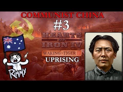 HOI4 Waking the Tiger - Communist China #3 - Uprising