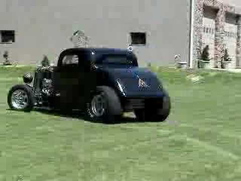 Bill Mullins '33 coupe pro-street 454 Chevy - YouTube