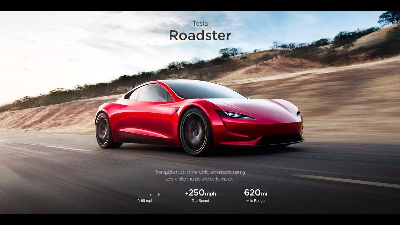 Tesla Roadster 2020 Presentation | 0-60 MPH 1.9 Sec - YouTube